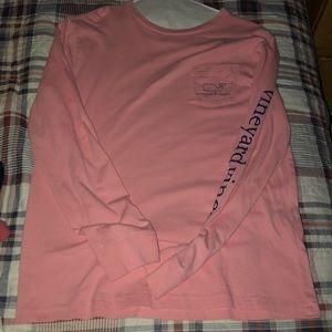 Pink Vineyard Vines Shirt